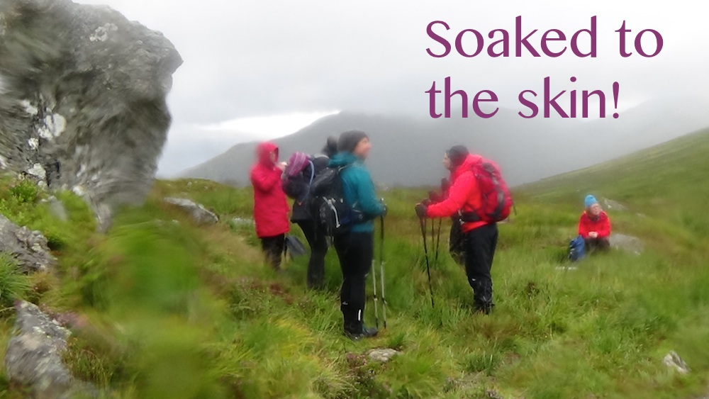 Ulog 15: A wet day in the Arrochar Alps