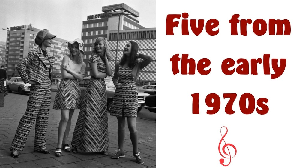 Five from the Seventies, Part One: an @slobberchops challenge!
