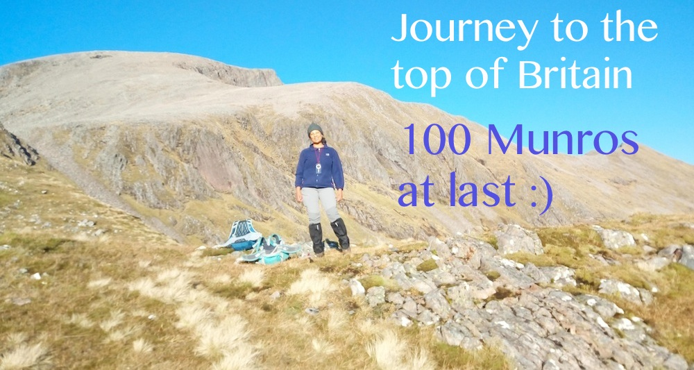 Serious Bagging: Magical day on Ben Nevis. 100 in the bag!