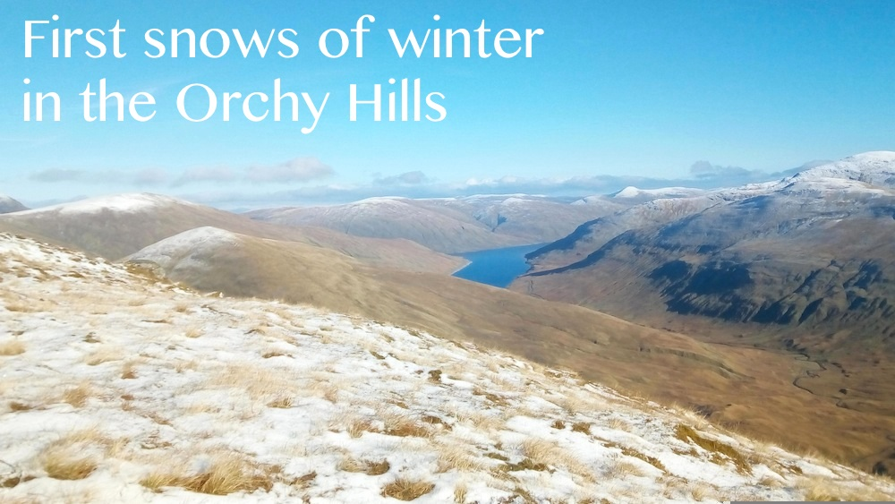 Ulog 23: Not-so-serious Bagging! Two lovely Corbetts in the Orchy hills