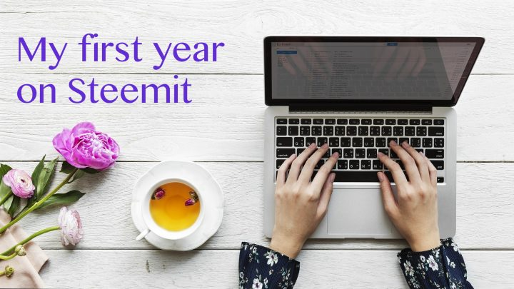 My belated one-year Steemaversary, and my first steps on Steemit
