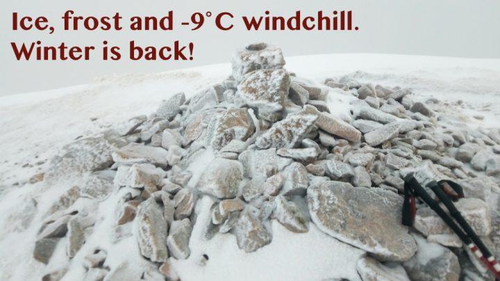 A blast of winter at Loch Lochy