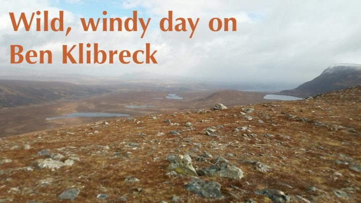 Out of the comfort zone, into the wild north west! Day 3: Ben Klibreck