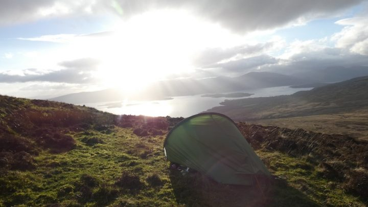 Wild camping the West Highland Way, part 1