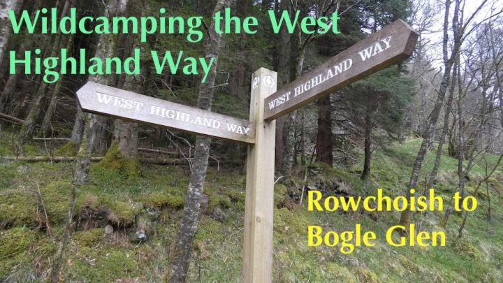 Wildcamping the West Highland Way, Day 3