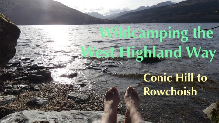 Wildcamping the West Highland Way, Day 2