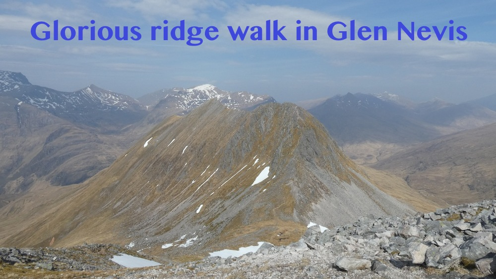 Walking the Ring of Steall, Glen Nevis