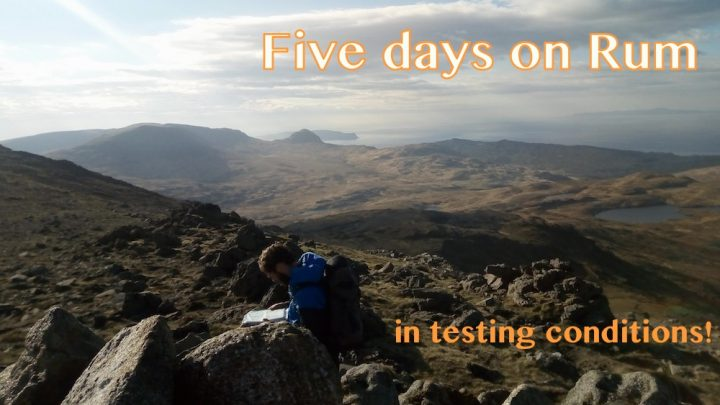 Mountain Leader assessment on the beautiful Isle of Rum