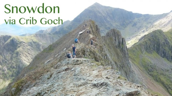 Snowdon on a knife-edge!